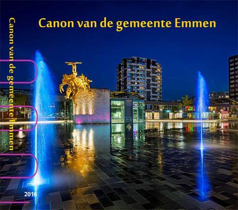 Omslag boek Canon van de gemeente Emmen