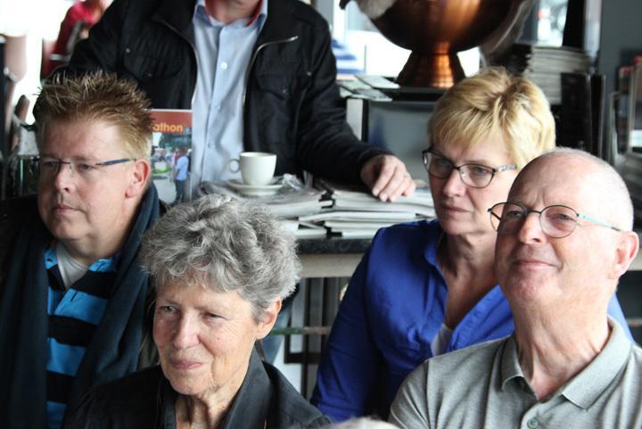 Aanwezigen bij presentatie Drenthe Marathon