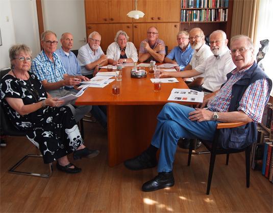Auteurs van het boek Canon van de gemeente Emmen