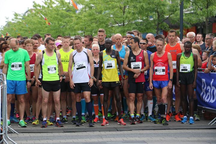 De start van de Drenthe Marathon in 2016