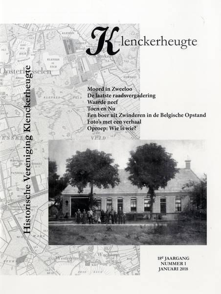 Omslag Klenckerheugte. Tijdschrift Historische Vereniging Klenckerheugte. Oosterhesselen.