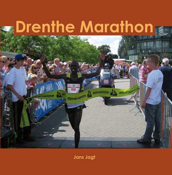 Omslag boek Drenthe Marathon