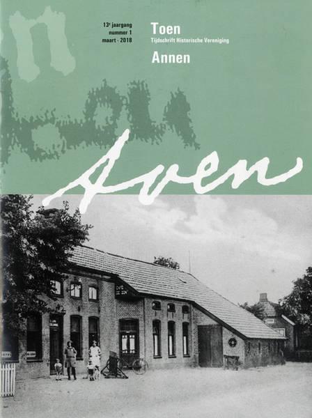 Omslag tijdschrift Toen. Historische Vereniging Annen.