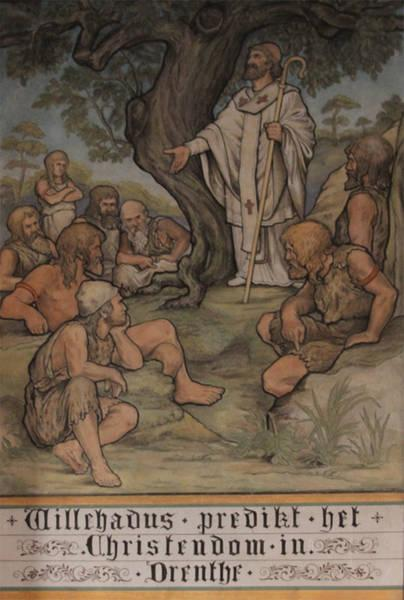 Willehad (789) predikt het Christendom in Drenthe