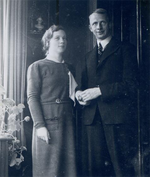 Tineke Bosma en Willem Sjuck Johannes Oosting