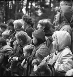 Toeschouwers bij Winston Noorder Dierenpark Emmen