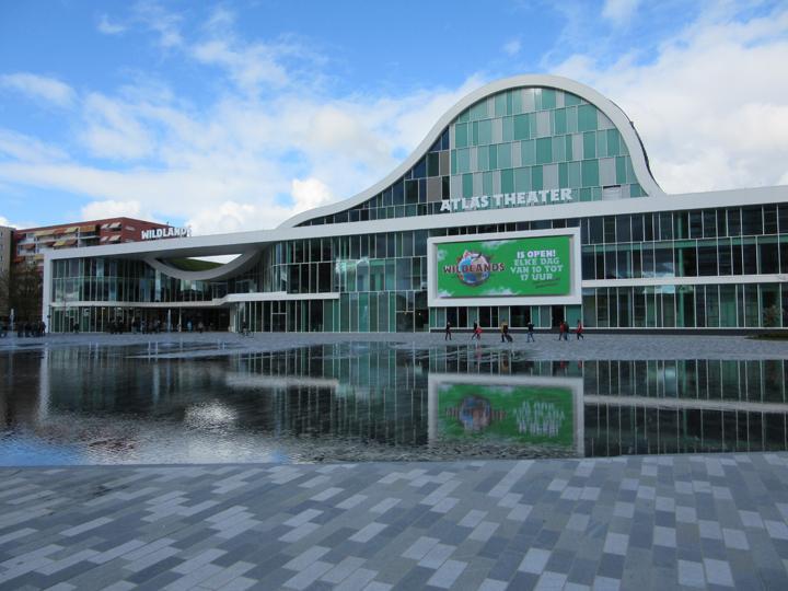 Het Atlastheater in Emmen (Foto: Piet Naber)