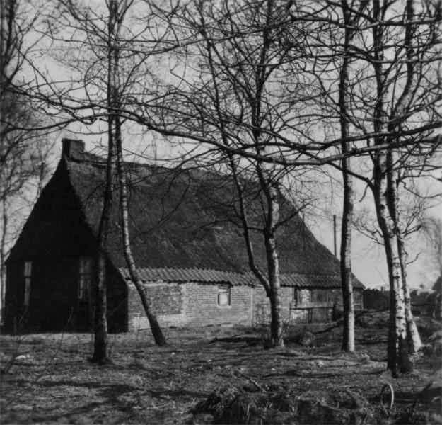 De woning van de familie Tenvelde aan de Zuidersloot in 1954