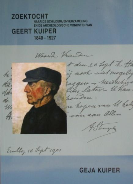 Boek Zoektocht naar de schilderijenverzameling en de archeologische vondsten van Geert Kuiper 1840-1927