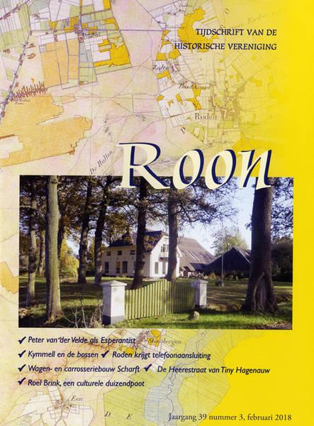 Omslag Roon. Historische Vereniging 'Roon'